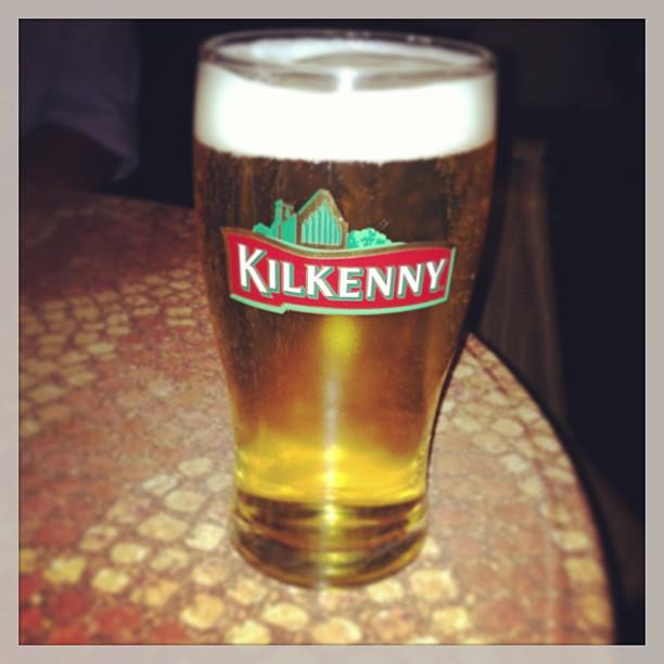 Eichbaum im Kilkenny Glas