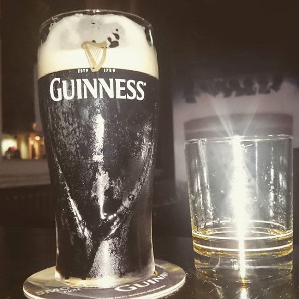 Irish Diner: Guinness & Jameson