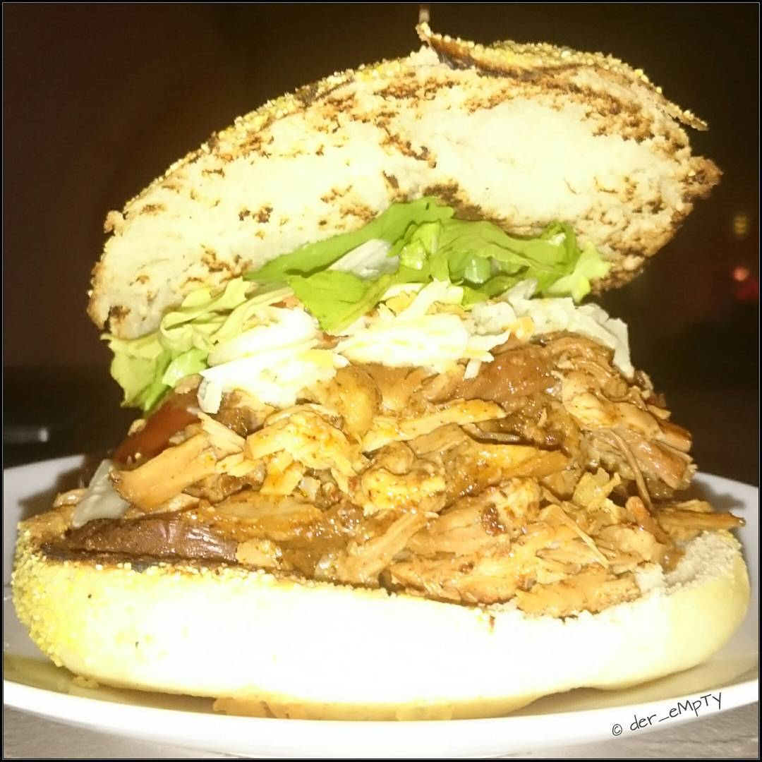 Fantastic Pulled Pork Burger