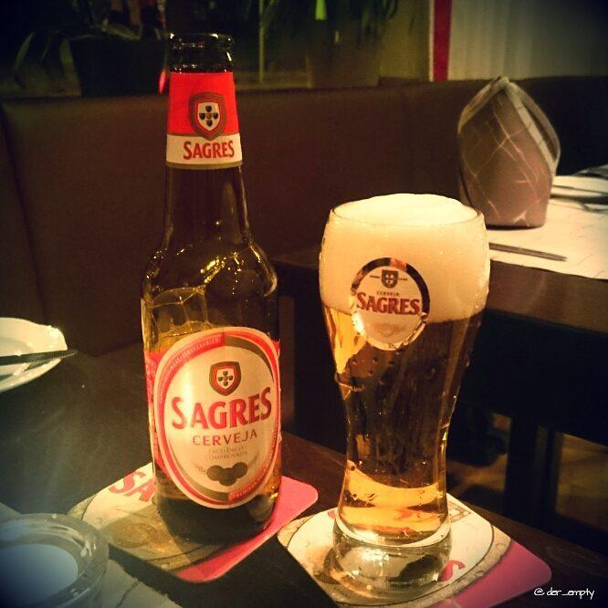 Sagres Cerveja from portugal