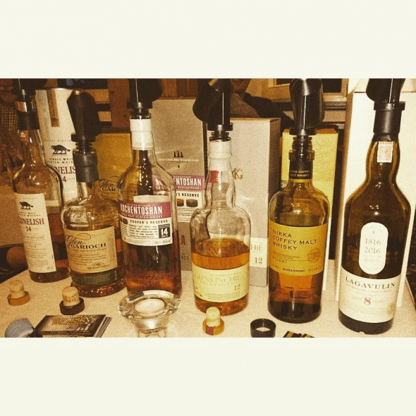 The Line up - Whiskyabend in der Mausefalle