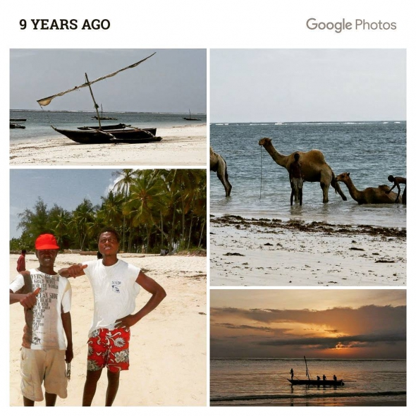 Vacation 9 years ago @ Diani Beach Kenya.  Thanks for the memories on this wonderful vacations