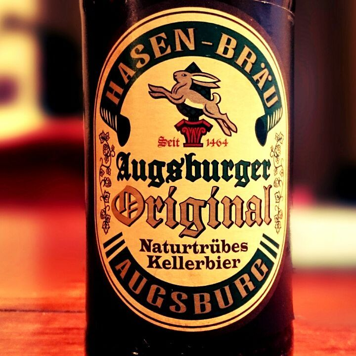 Hasen-Bräu Augsburger Naturtrübes Kellerbier