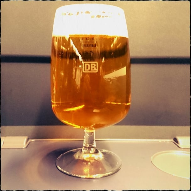 Train beer @ ICE