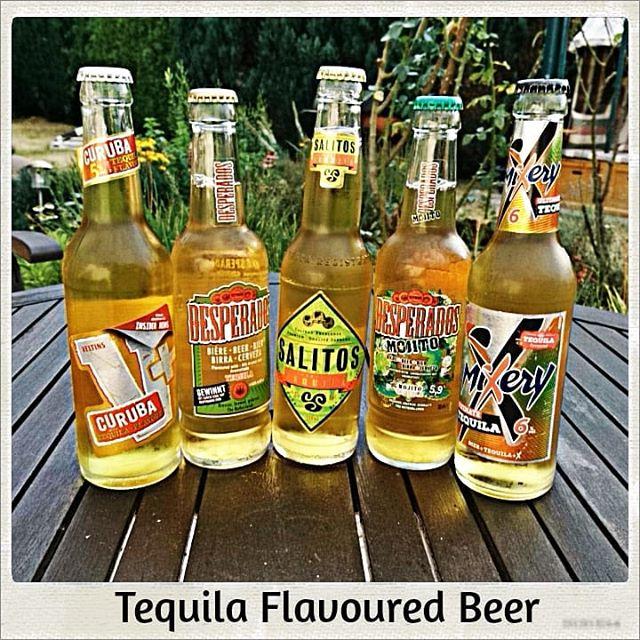 Tequila Flavoured Beer+curuba