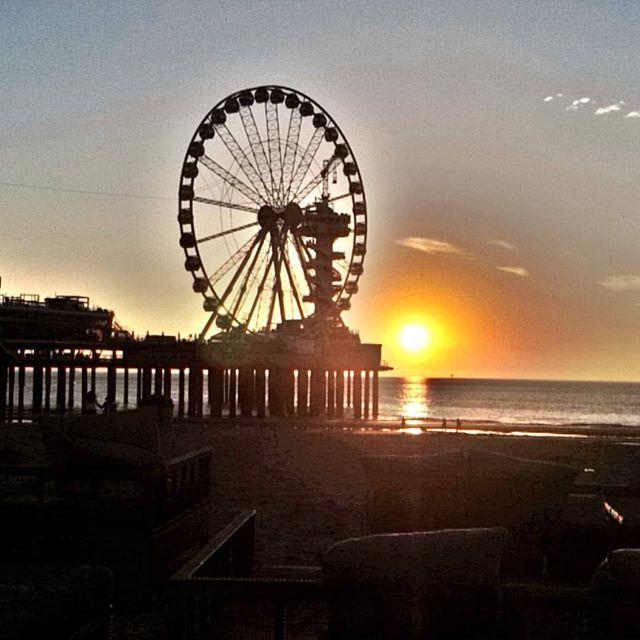 Sunset @ Scheveningen Beach