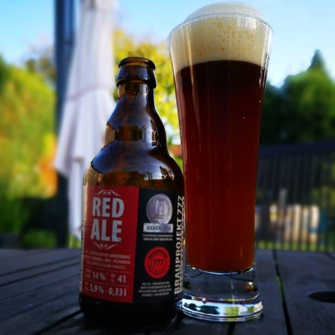 Brauprojekt 777 Red Ale